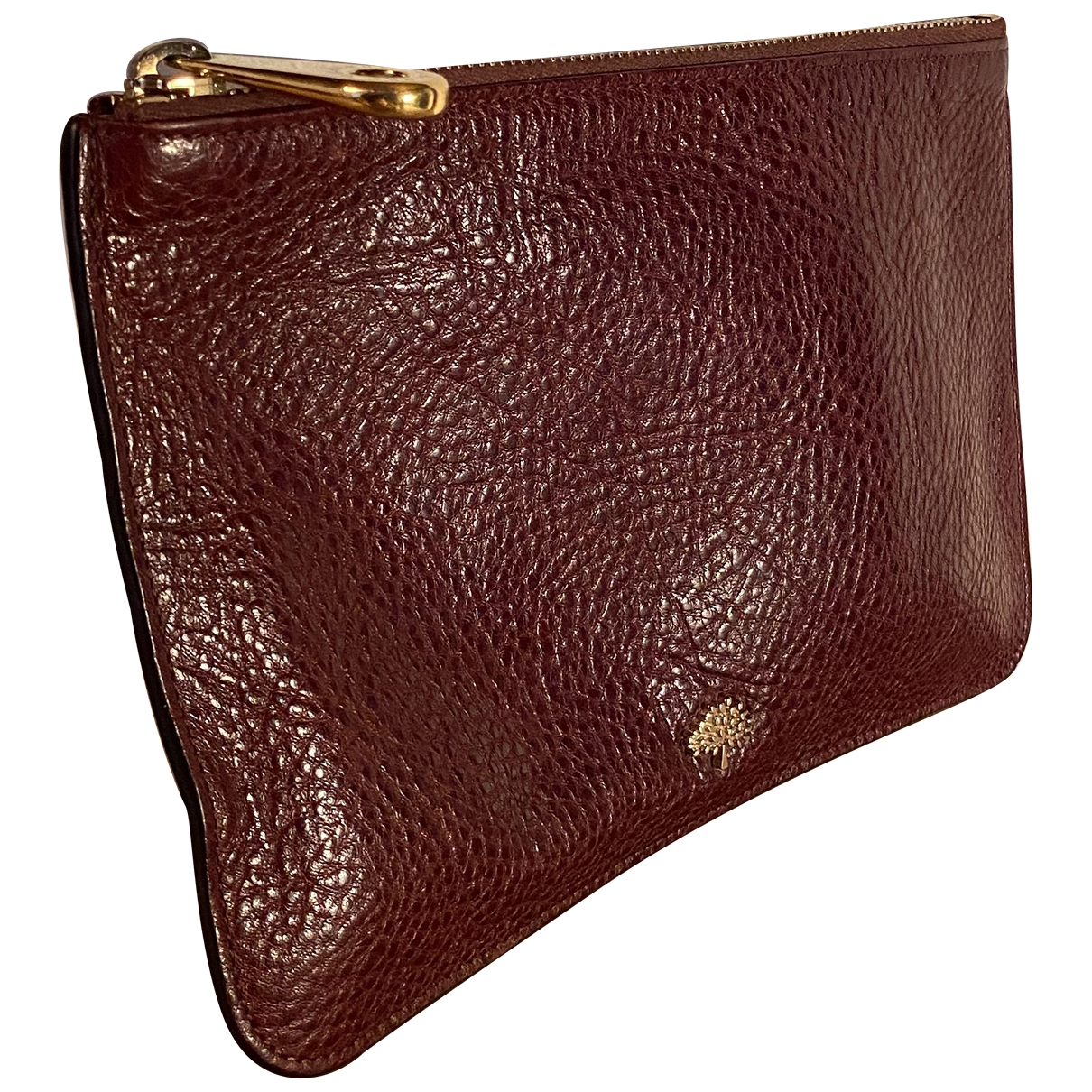 Mulberry \N Burgundy Leather Clutch bag for Women \N