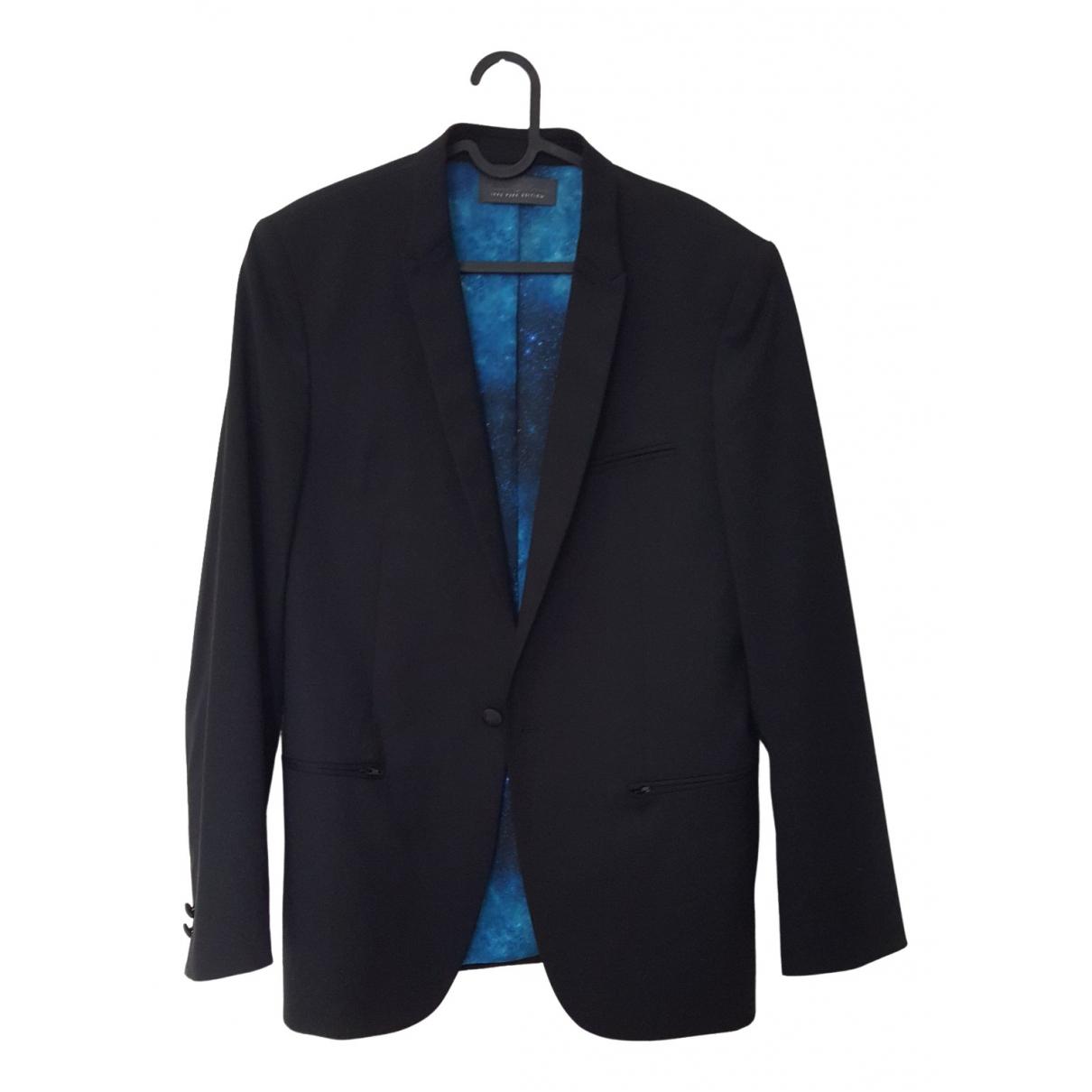 Ikks \N Black Wool jacket  for Men S International
