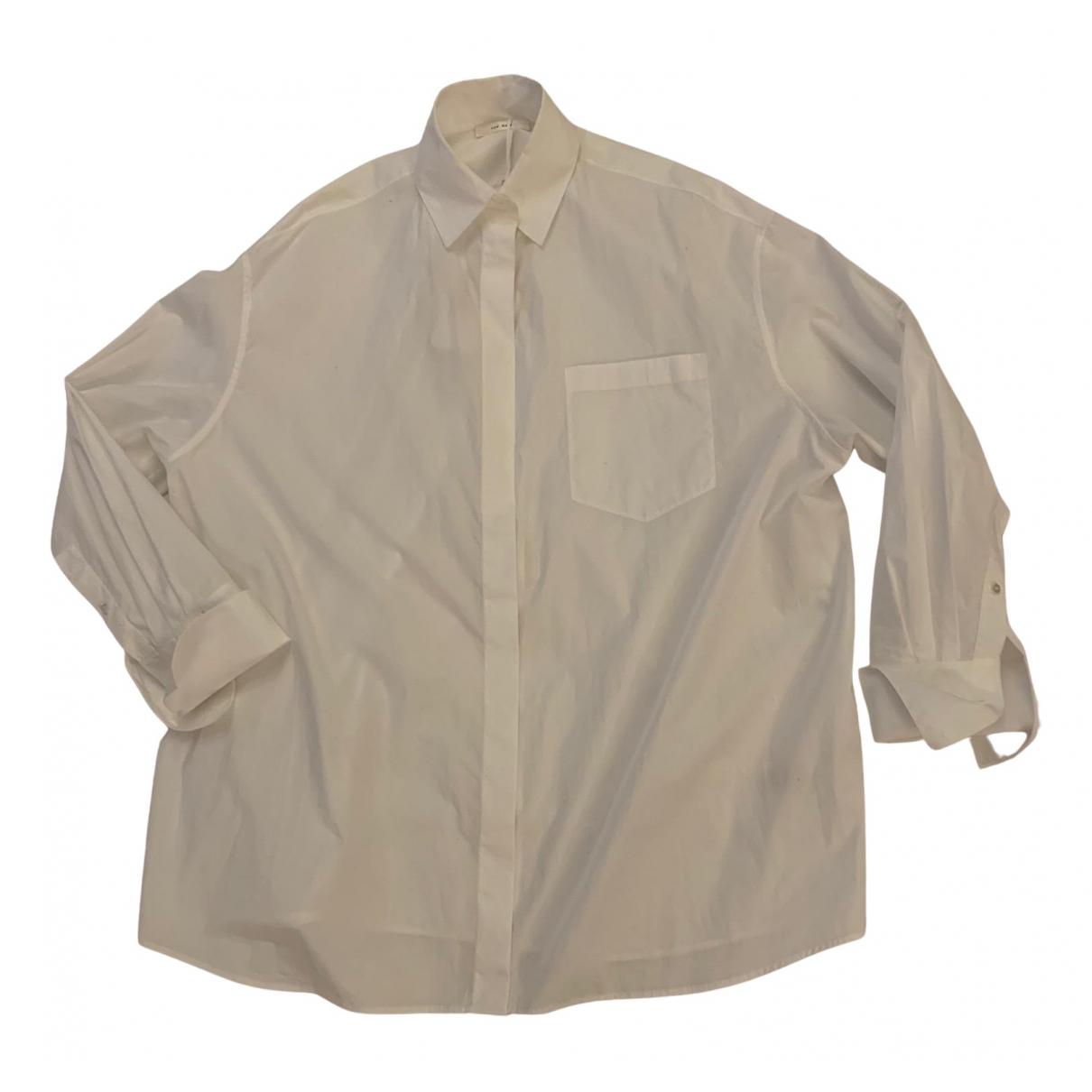 The Row - Top   pour femme en coton - blanc