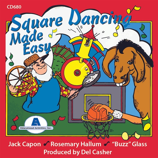 Square Dancing Made Easy Cd By Educational Activities | Michaels®