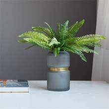 1branch Artificial Leaf Without Vase