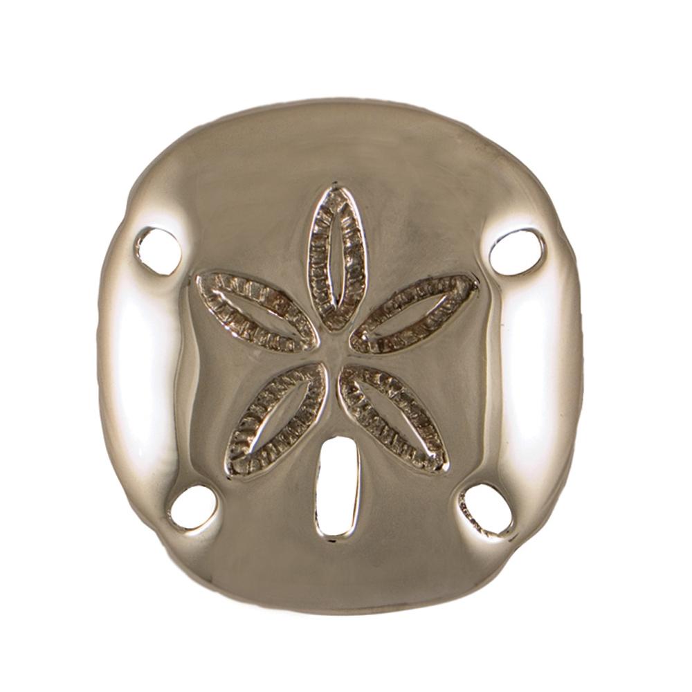 Sand Dollar Doorbell Ringer - Nickel Silver