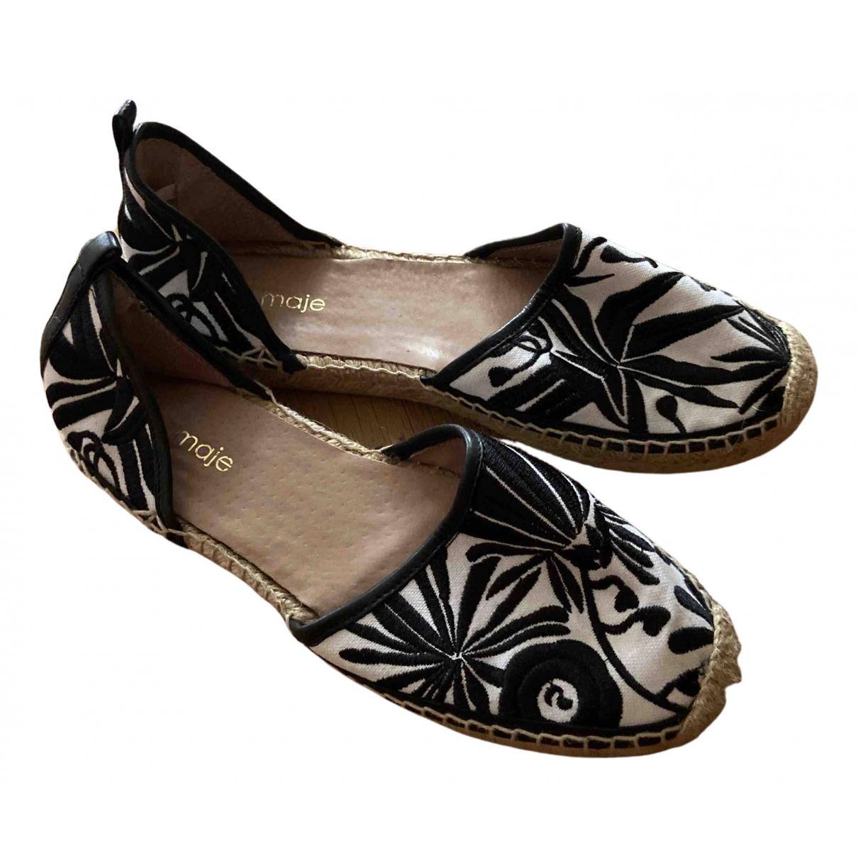 Sandalias de Cuero Maje
