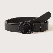 Kids Double Ring Buckle Belt