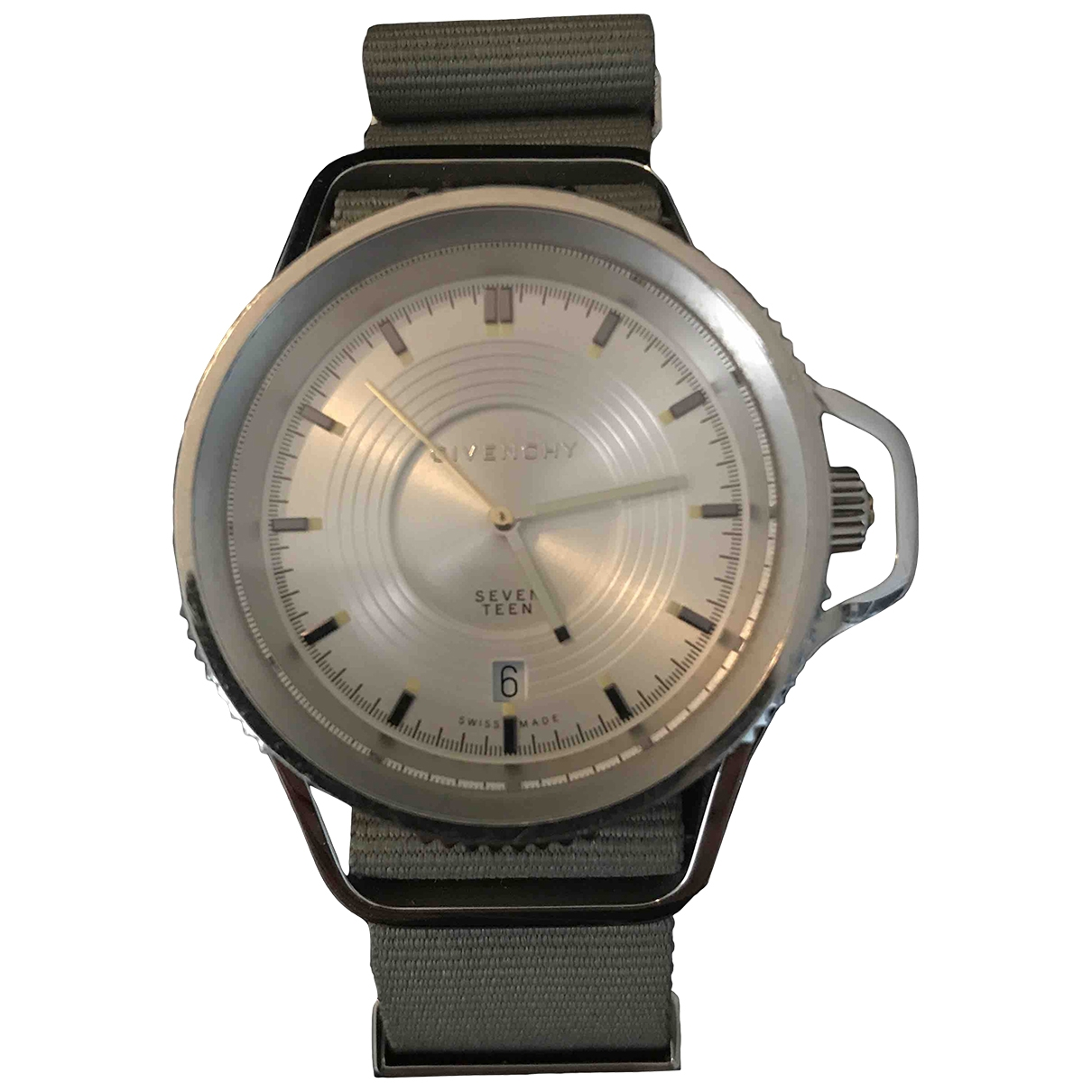 Givenchy \N Uhr in  Silber Stahl