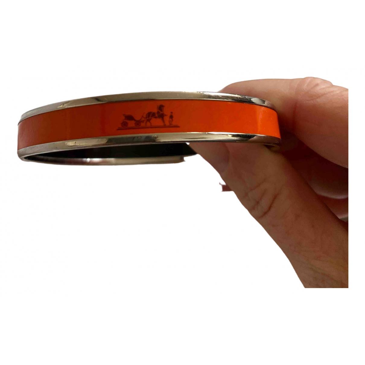 Hermes \N Armband in  Orange Keramik