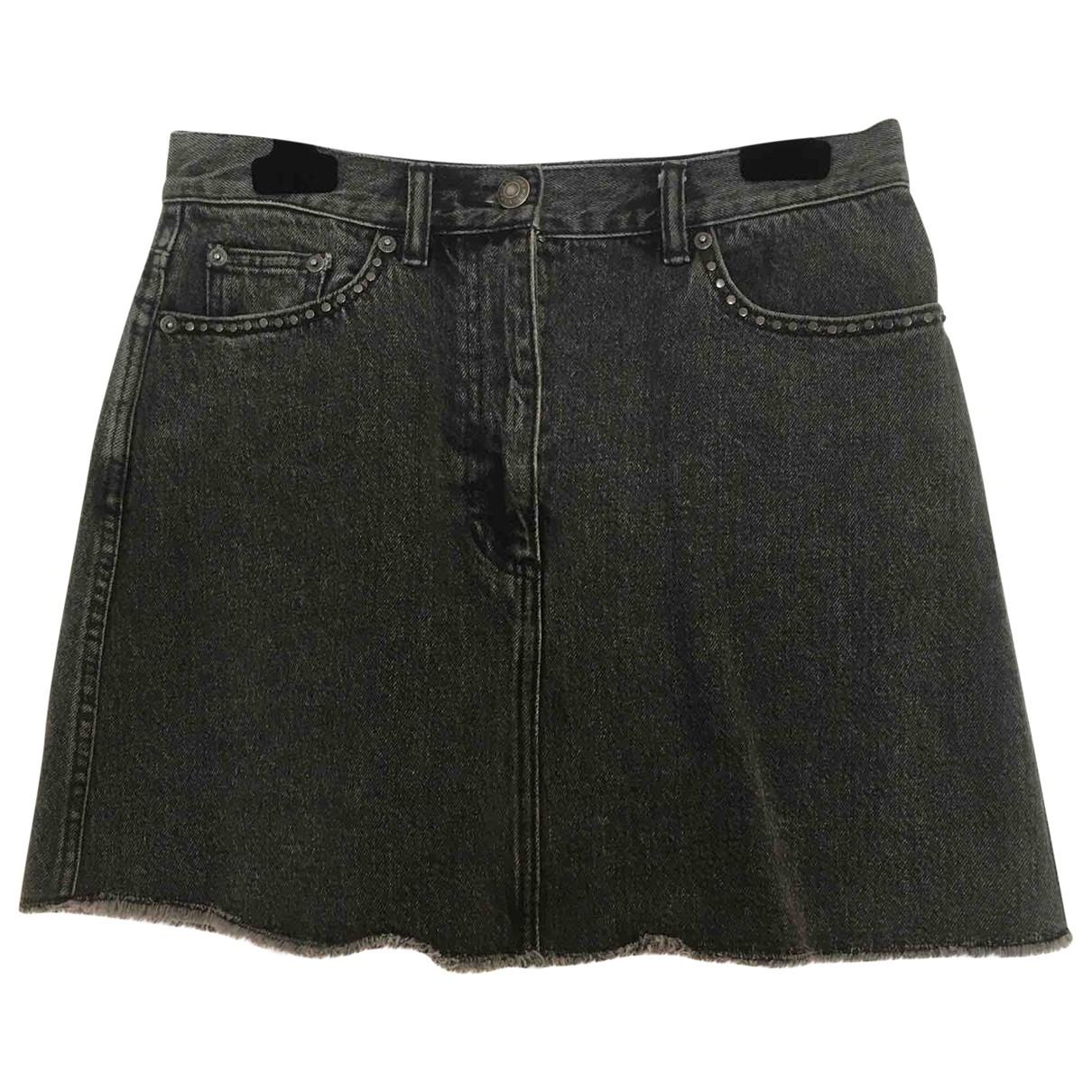 Marc By Marc Jacobs \N Rocke in  Schwarz Denim - Jeans