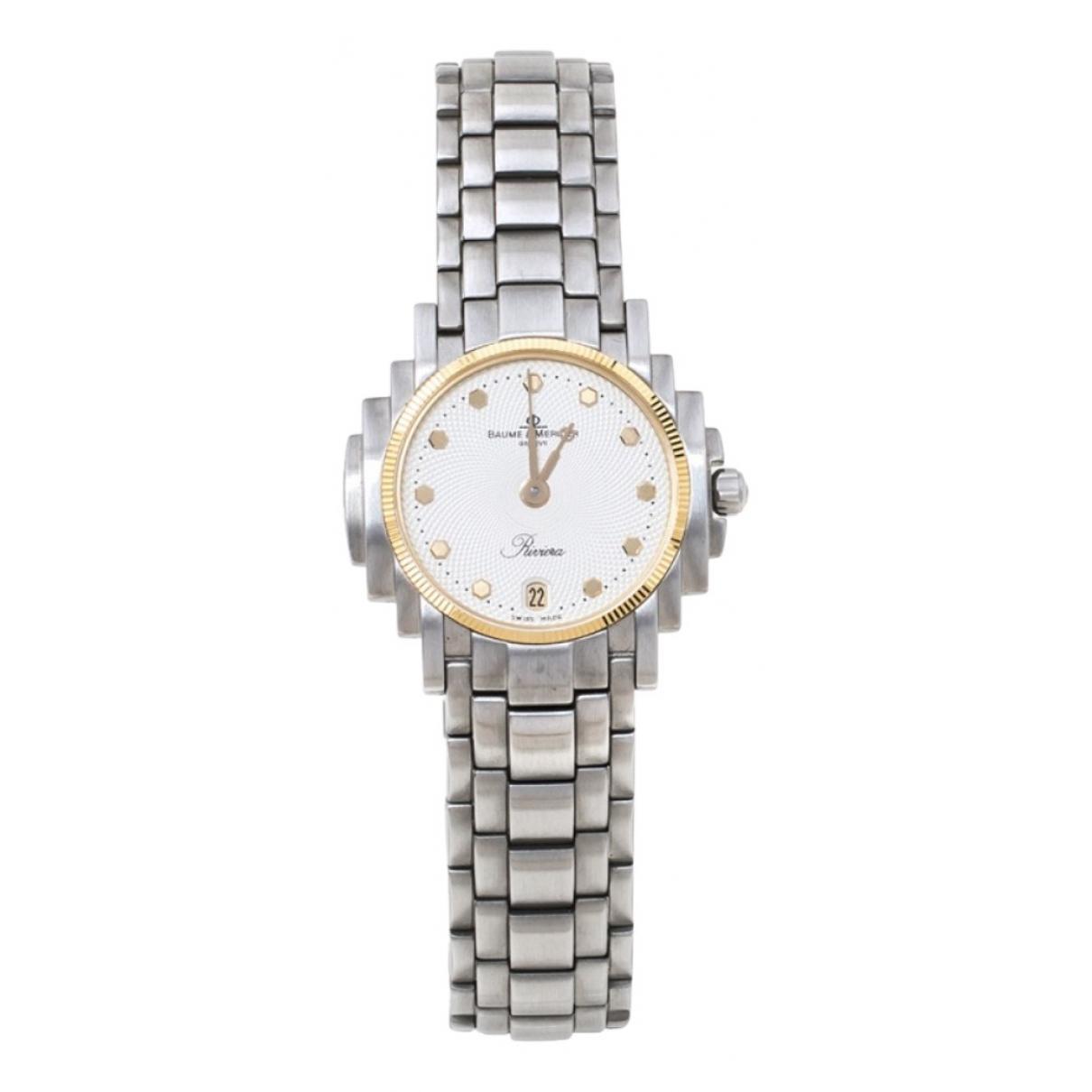 Baume Et Mercier N White Steel watch for Women N