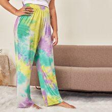 Hose mit Batik
