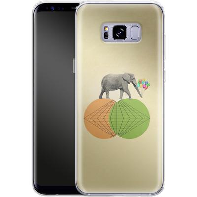 Samsung Galaxy S8 Plus Silikon Handyhuelle - Balloney Fant von Mark Ashkenazi