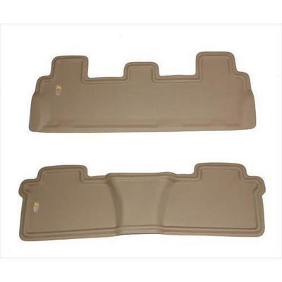 Nifty Catch-All Xtreme Rear Floor Mat,2nd and 3rd Row (Tan) - 4510012