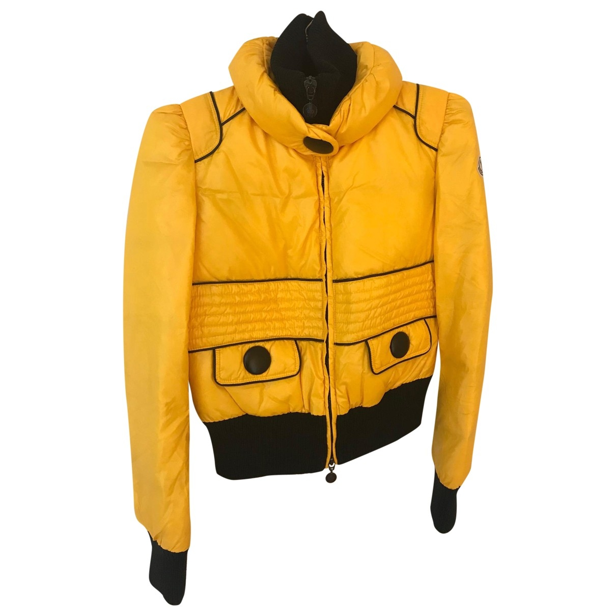 Moncler \N Yellow jacket for Women 1 0-5