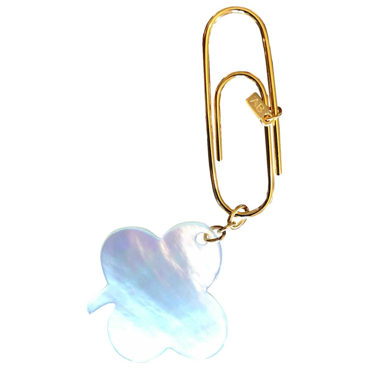Aurelie Bidermann N White Gold plated Bag charms for Women N