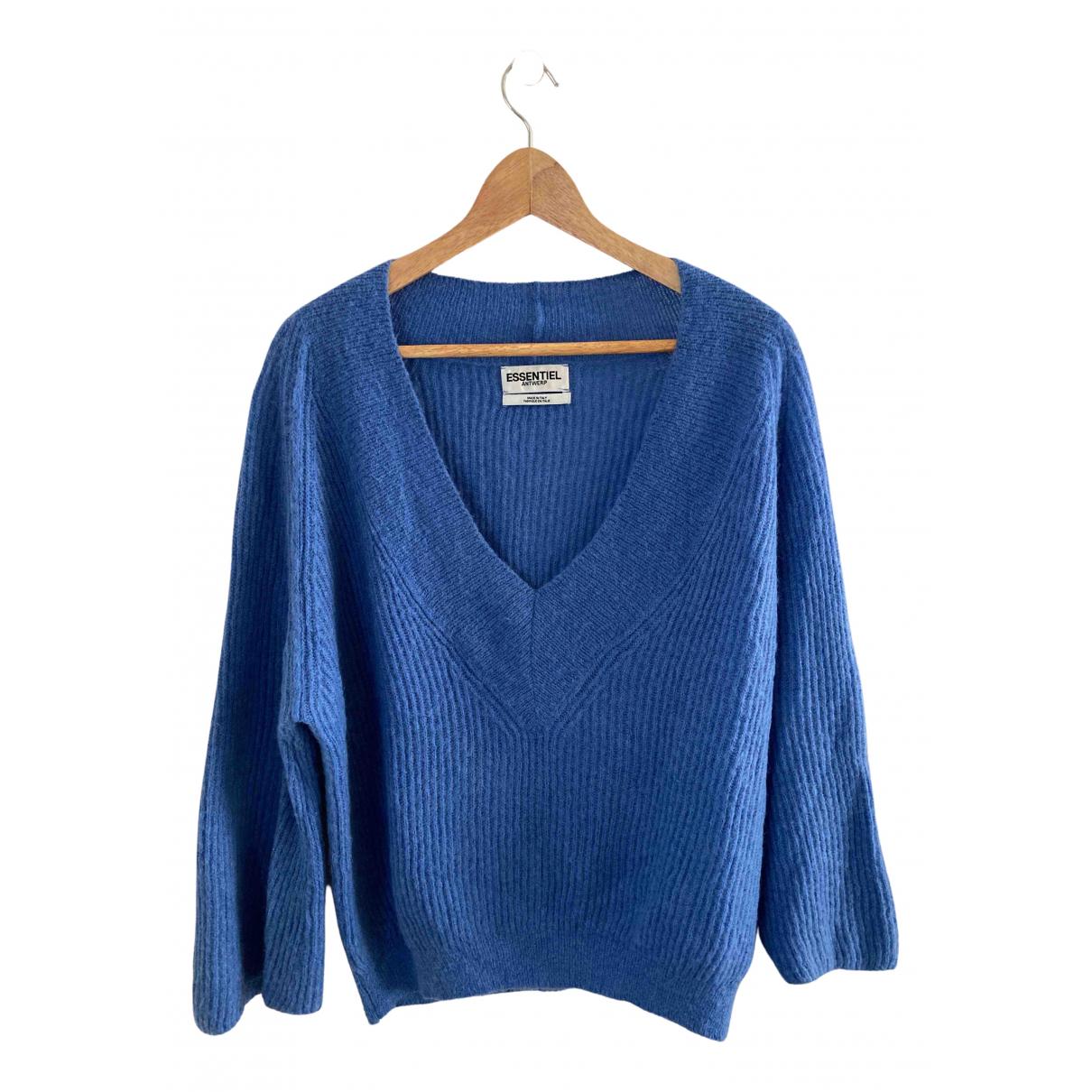 Essentiel Antwerp - Pull   pour femme - bleu