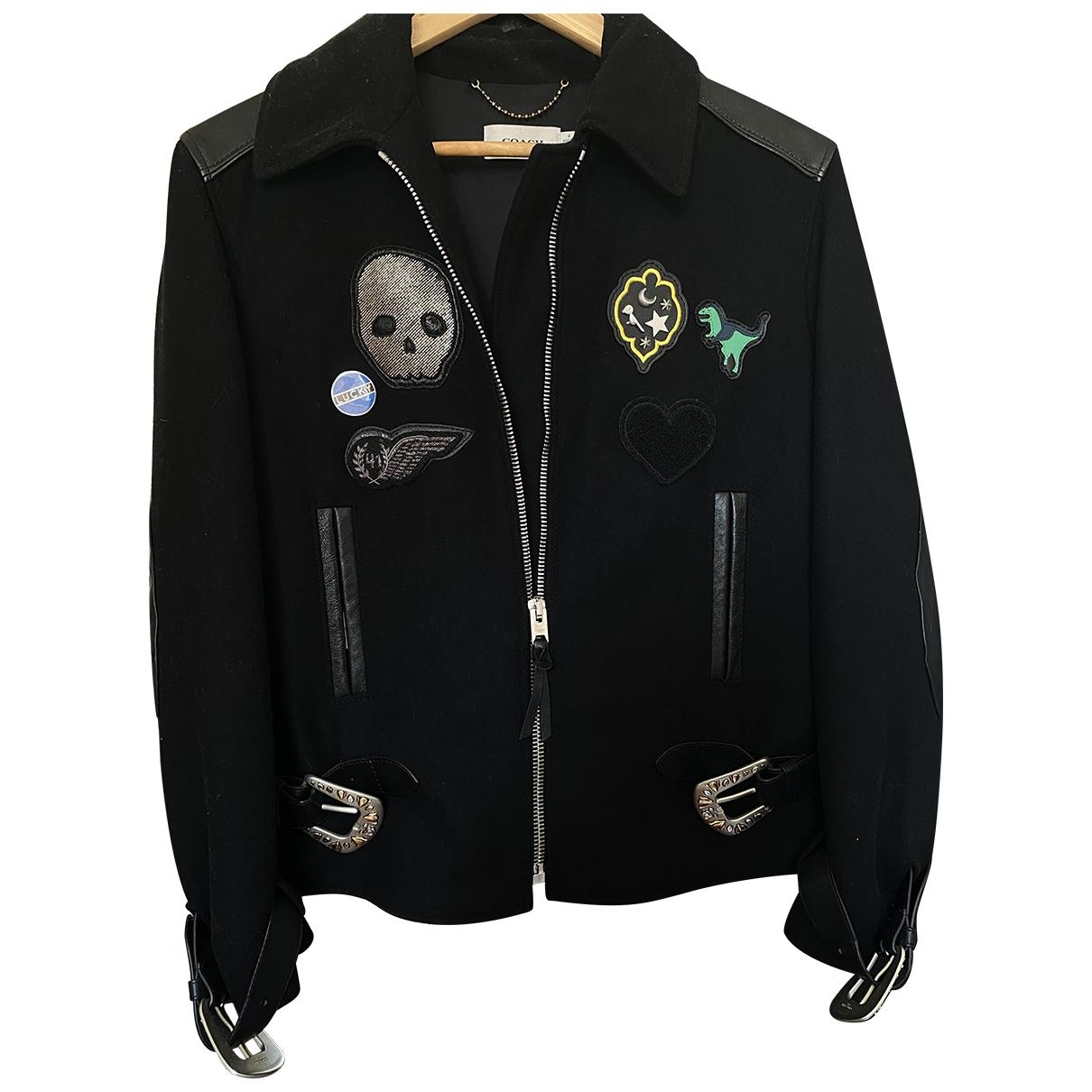 Coach \N Black Wool jacket  for Men M International