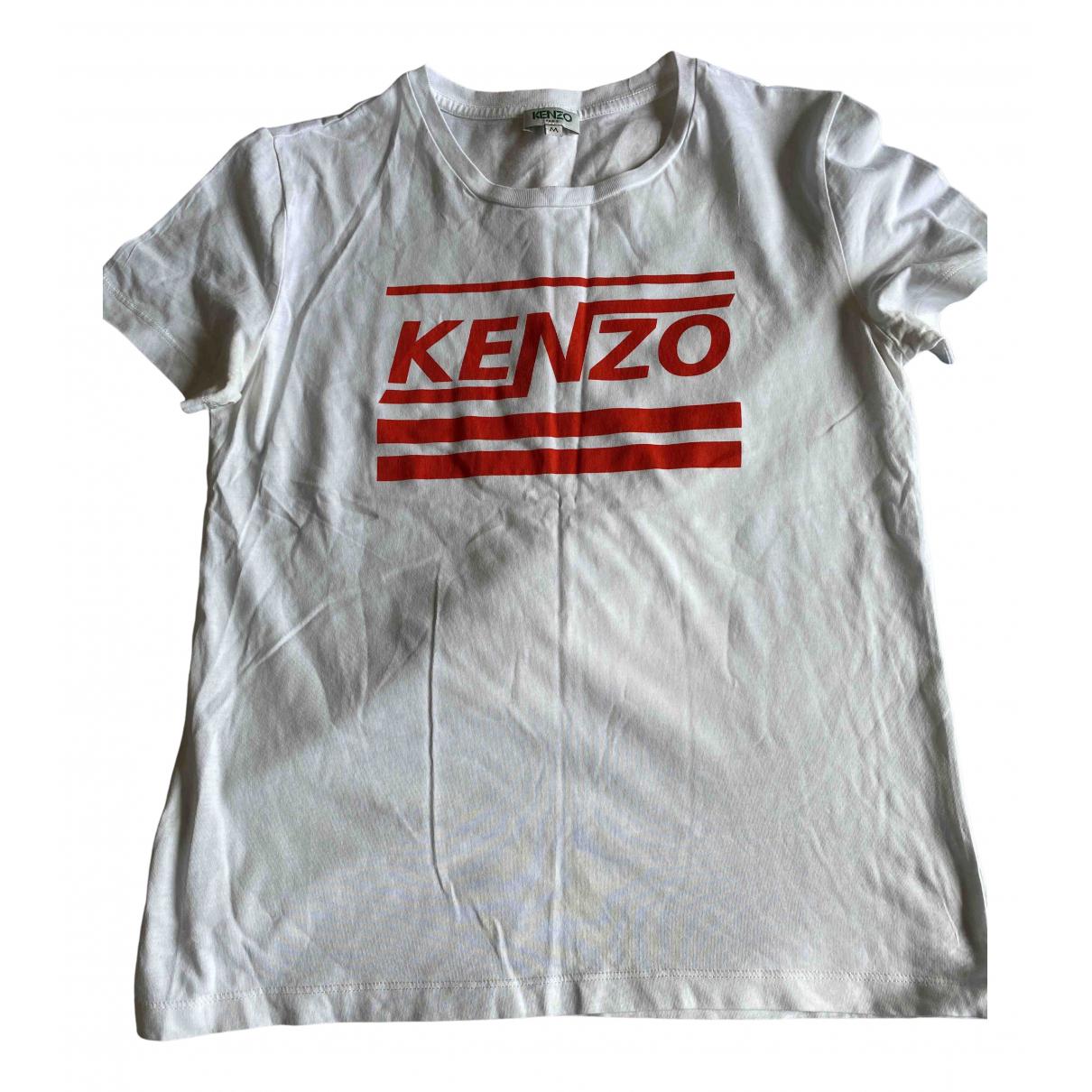 Kenzo \N Top in  Weiss Baumwolle