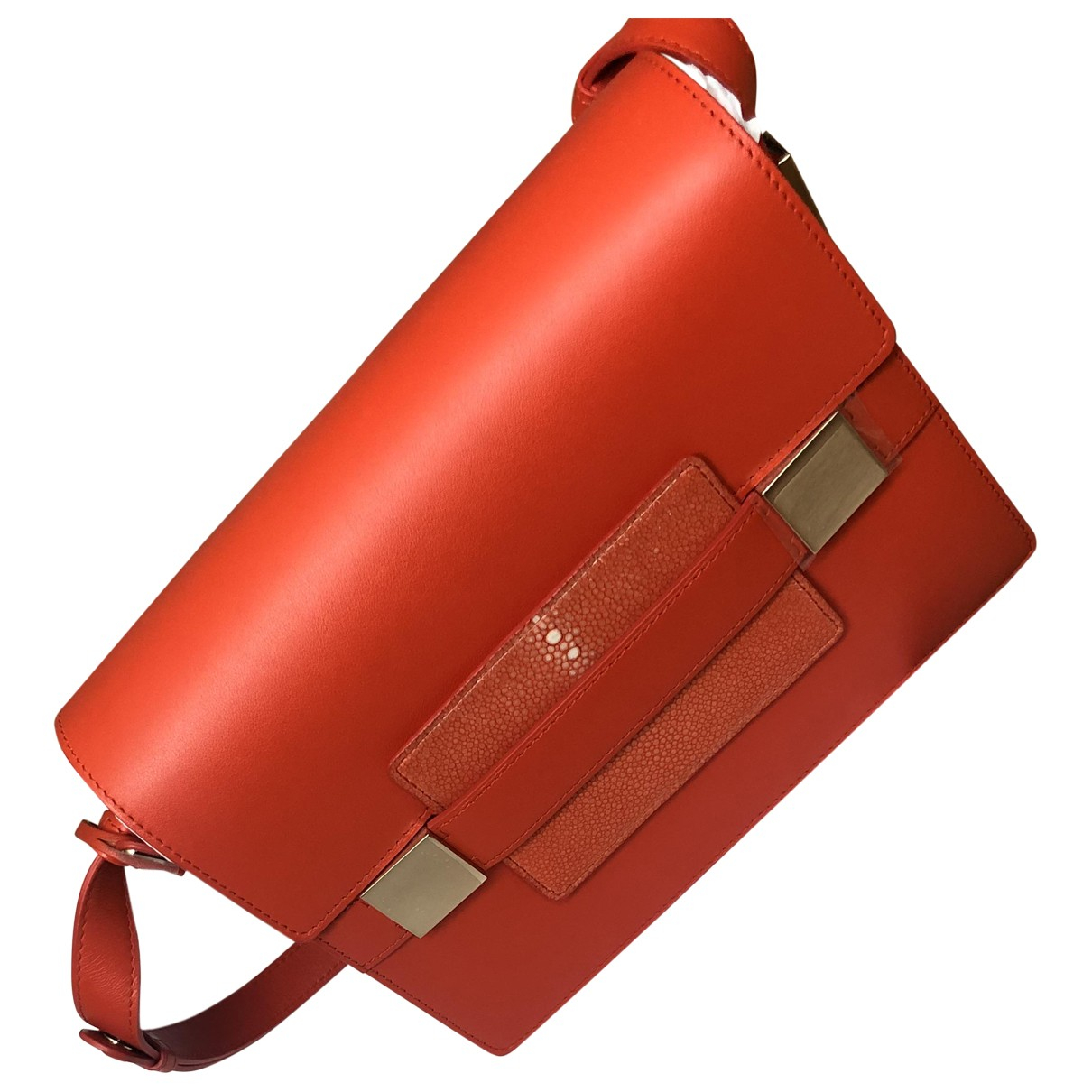 Delvaux Madame Red Leather handbag for Women \N