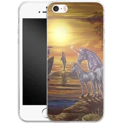 Apple iPhone 5 Silikon Handyhuelle - Ed Beard Jr - Mystical Occurance von TATE and CO