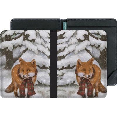 tolino vision 2 eBook Reader Huelle - Winter Fox von Terry Fan