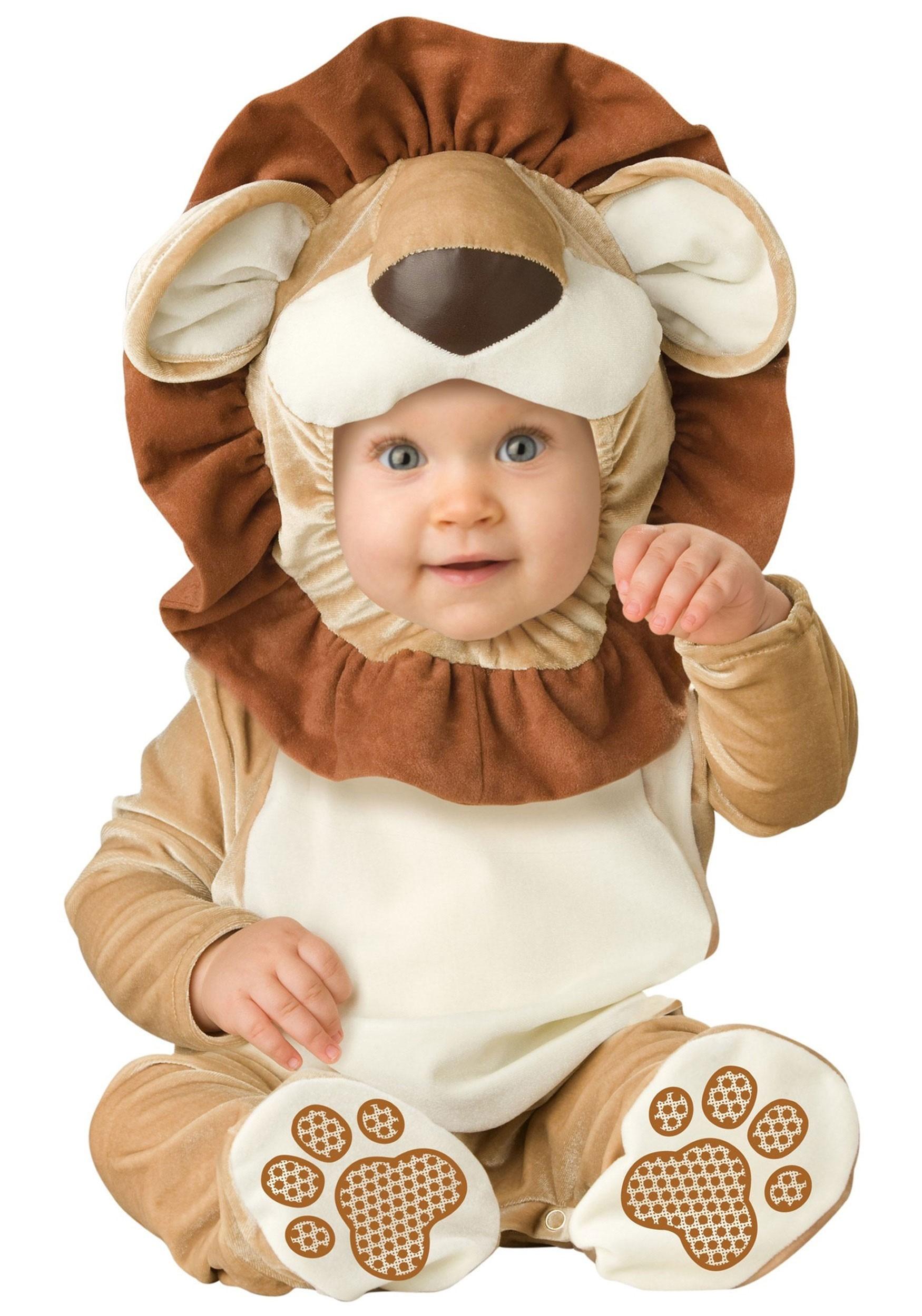 Lovable Little Lion Costume for Babies