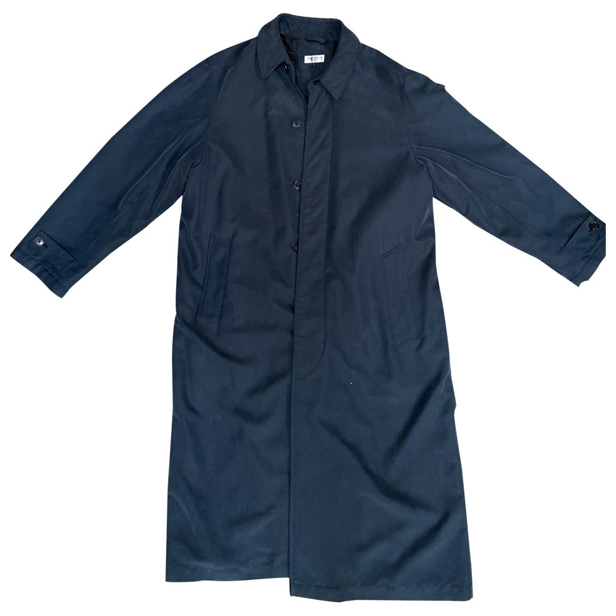 Balmain \N Navy coat  for Men 52 FR