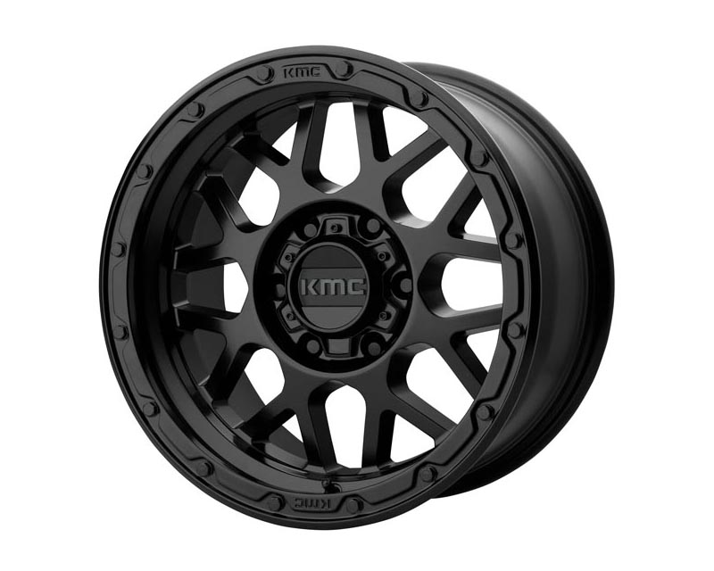 KMC Grenade Off-Road Wheel 17x9 6X5.5 -12mm Matte Black