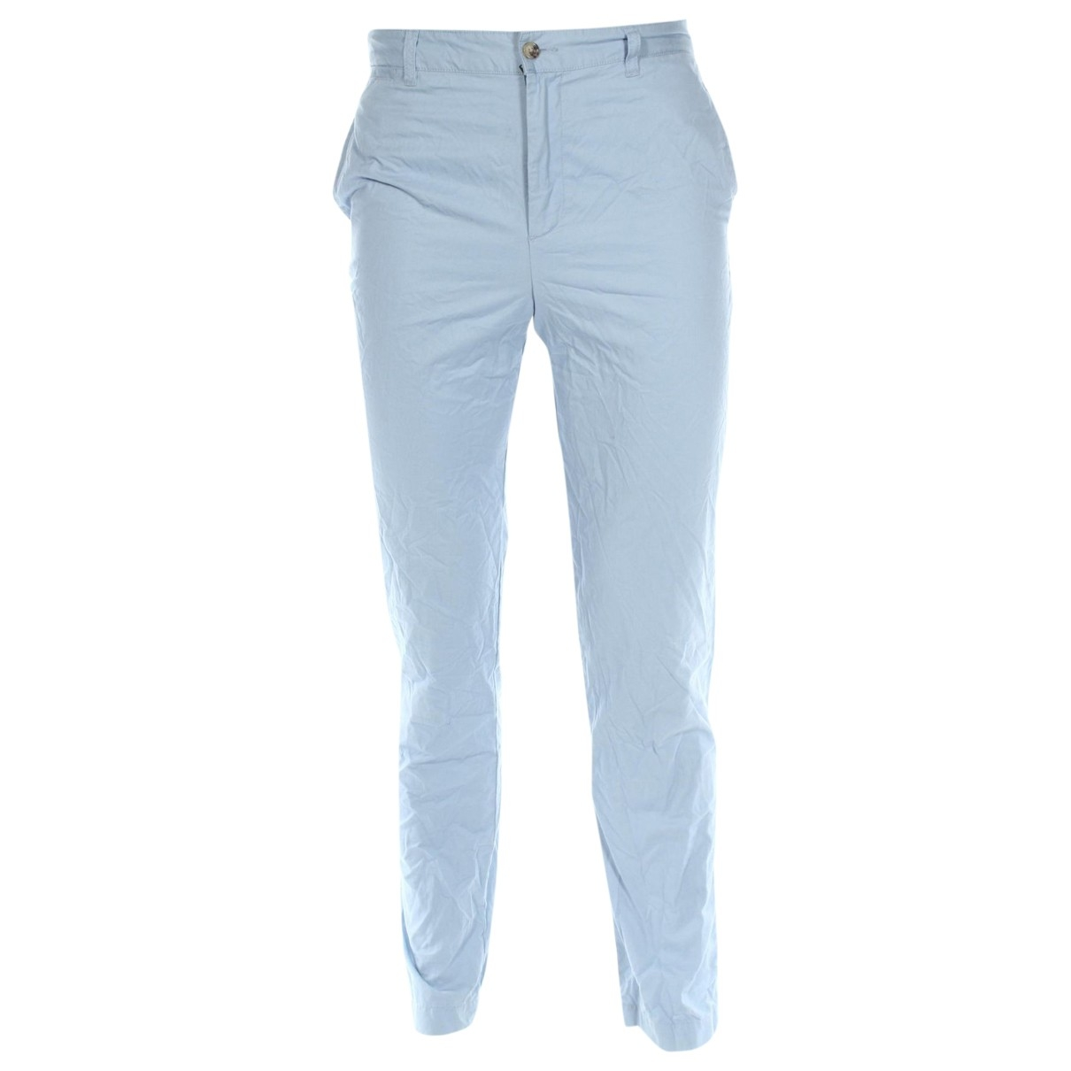 Polo Ralph Lauren \N Blue Cotton Trousers for Men S International