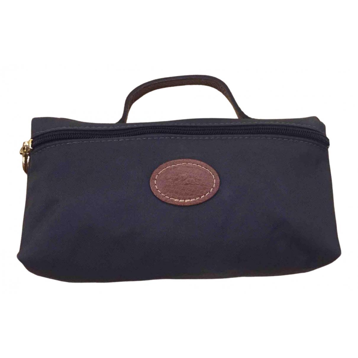 Longchamp \N Clutch in  Grau Polyester