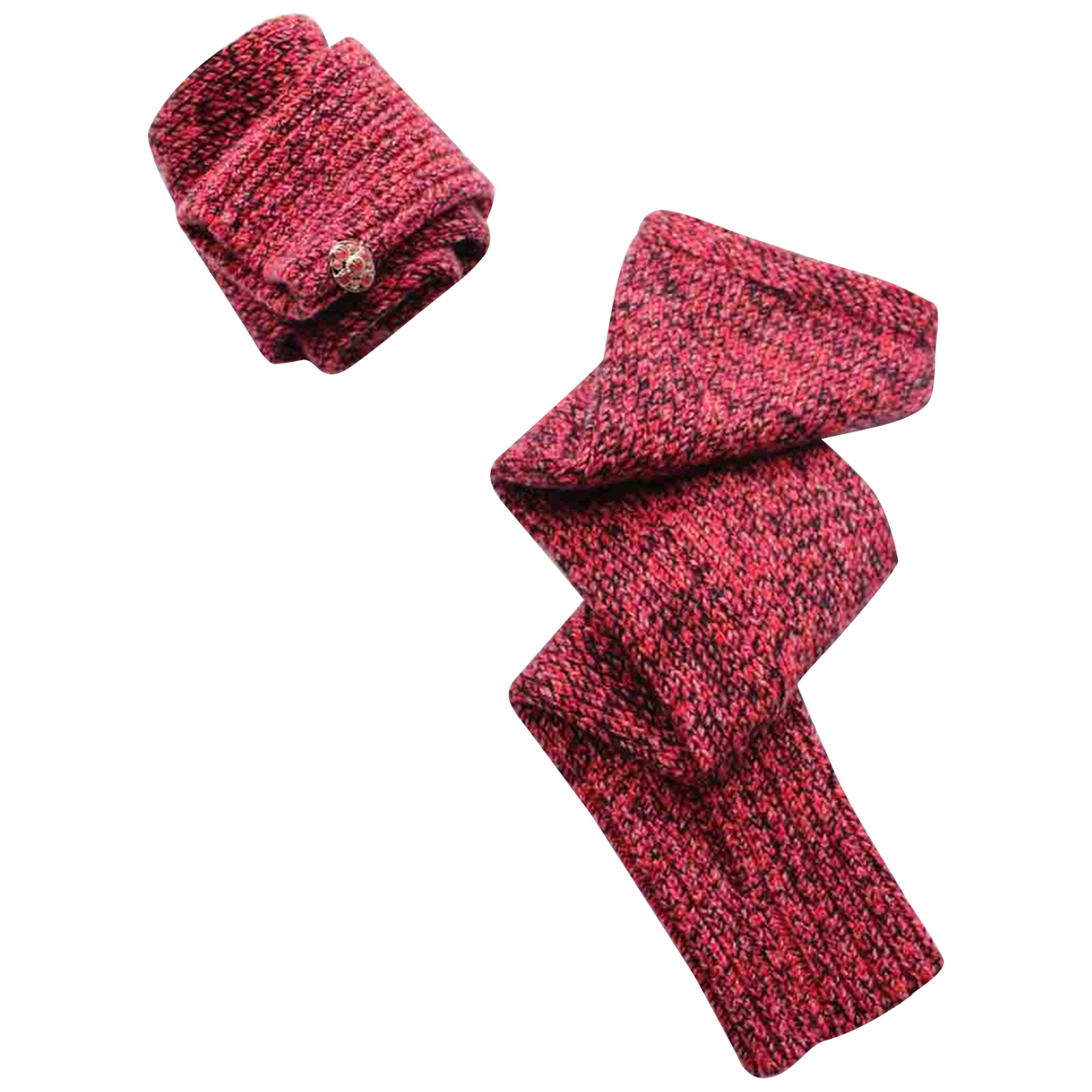 Chanel \N Handschuhe in  Rosa Kaschmir