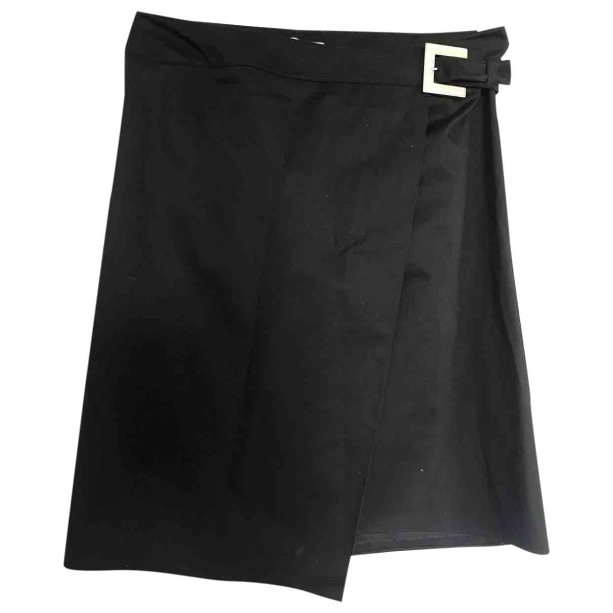 Valentino Garavani - Jupe   pour femme en coton - noir
