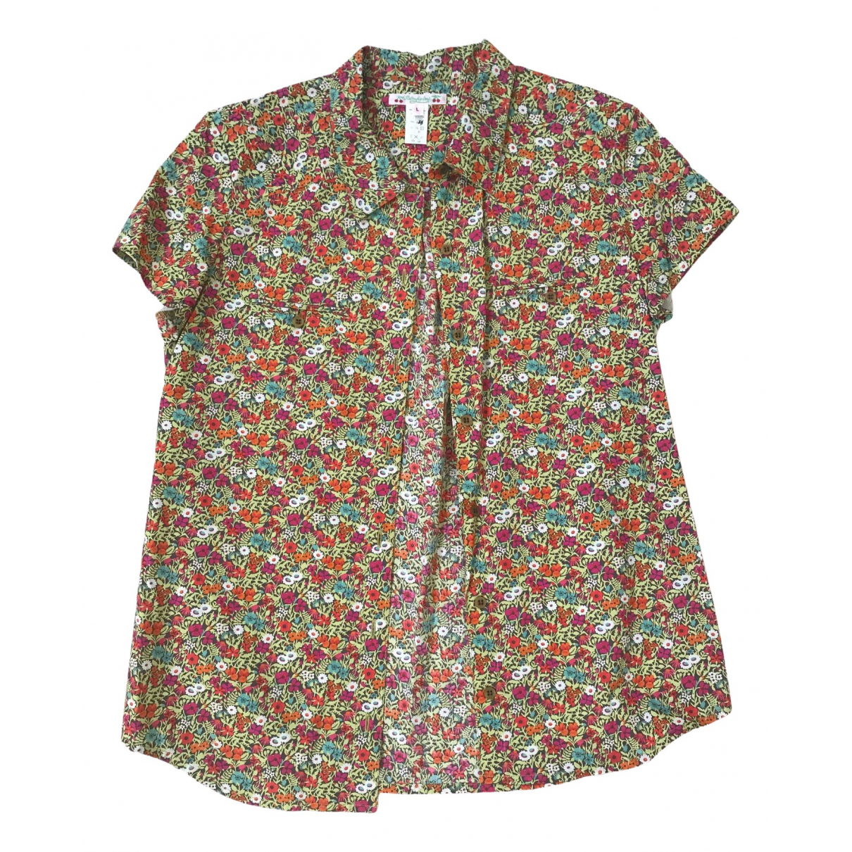 Bonpoint - Top   pour femme en coton - multicolore