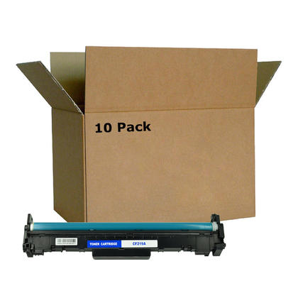 Compatible HP 19A CF219A Black Drum With Chip - Economical Box - 10/Pack