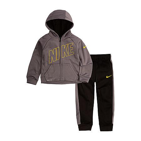 Nike Toddler Boys 2-pc. Pant Set, 4t , Black