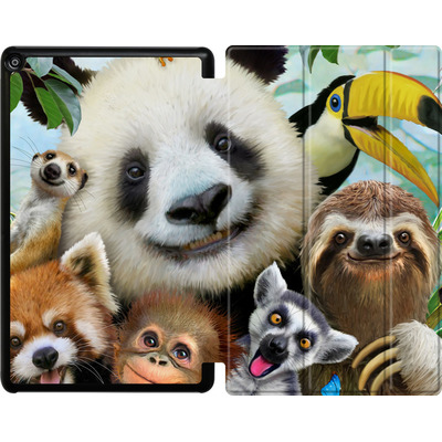 Amazon Fire HD 10 (2018) Tablet Smart Case - Zoo Selfie von Howard Robinson