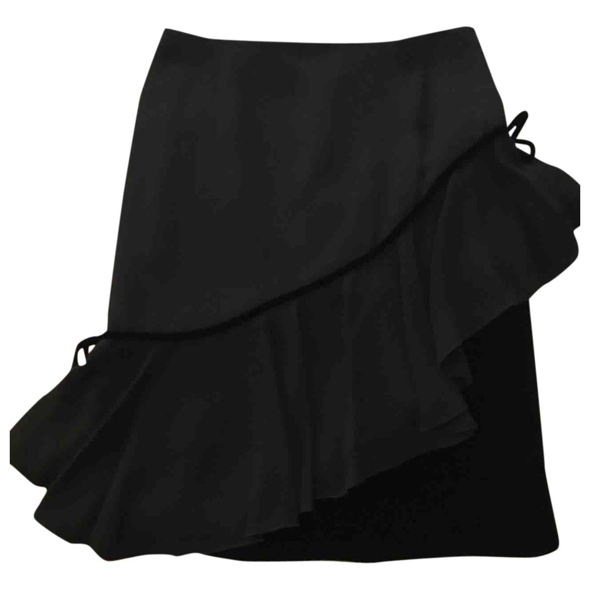 Valentino Garavani - Jupe   pour femme en soie - noir