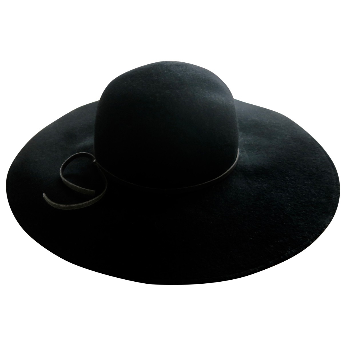 Zara - Chapeau   pour femme en laine - noir
