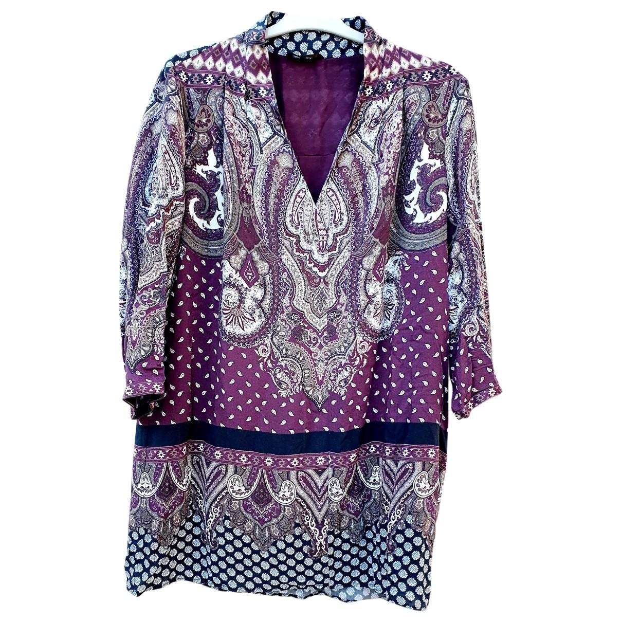 Massimo Dutti \N Kleid in Baumwolle