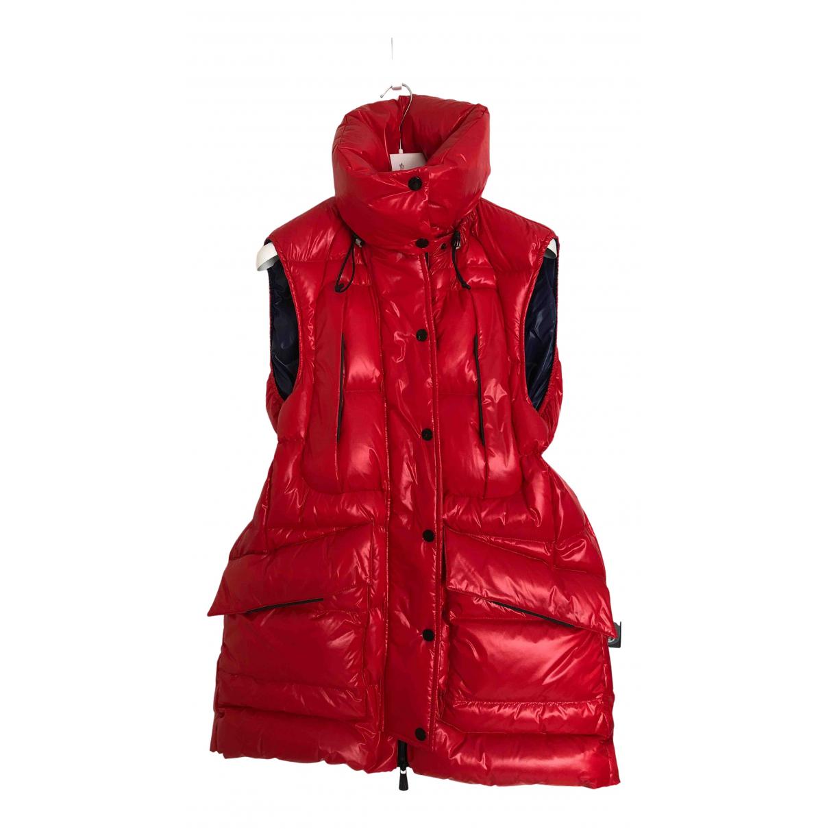 Moncler - Veste Grenoble pour femme - rouge