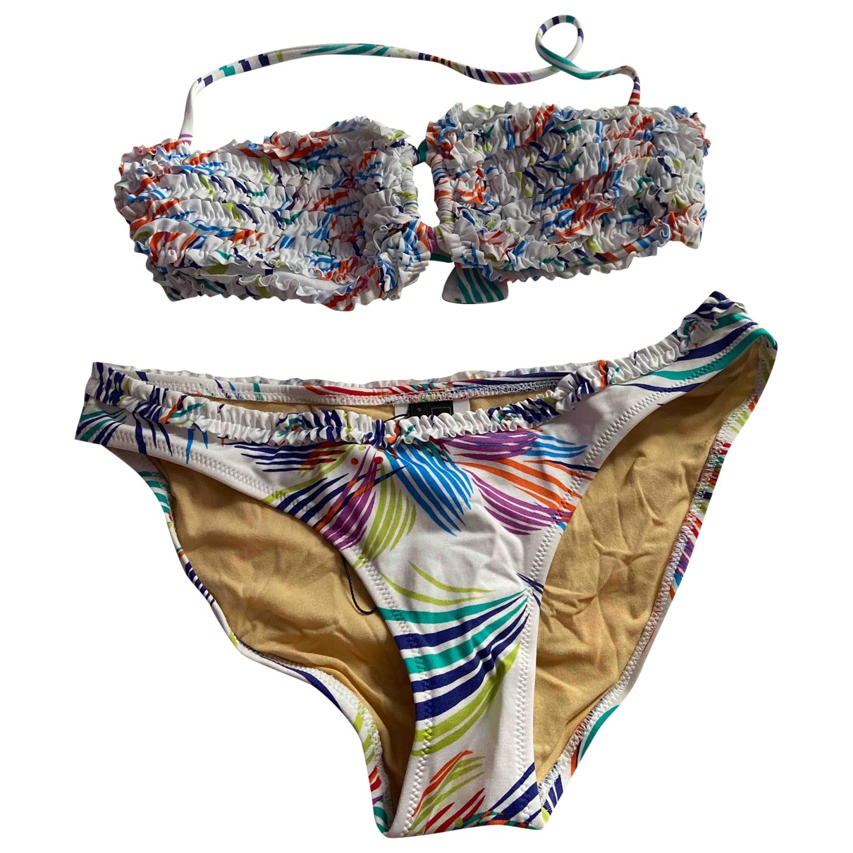 Bcbg Max Azria - Bain   pour femme en coton - elasthane - multicolore