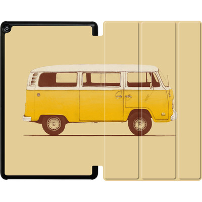 Amazon Fire HD 10 (2017) Tablet Smart Case - Yellow Van von Florent Bodart