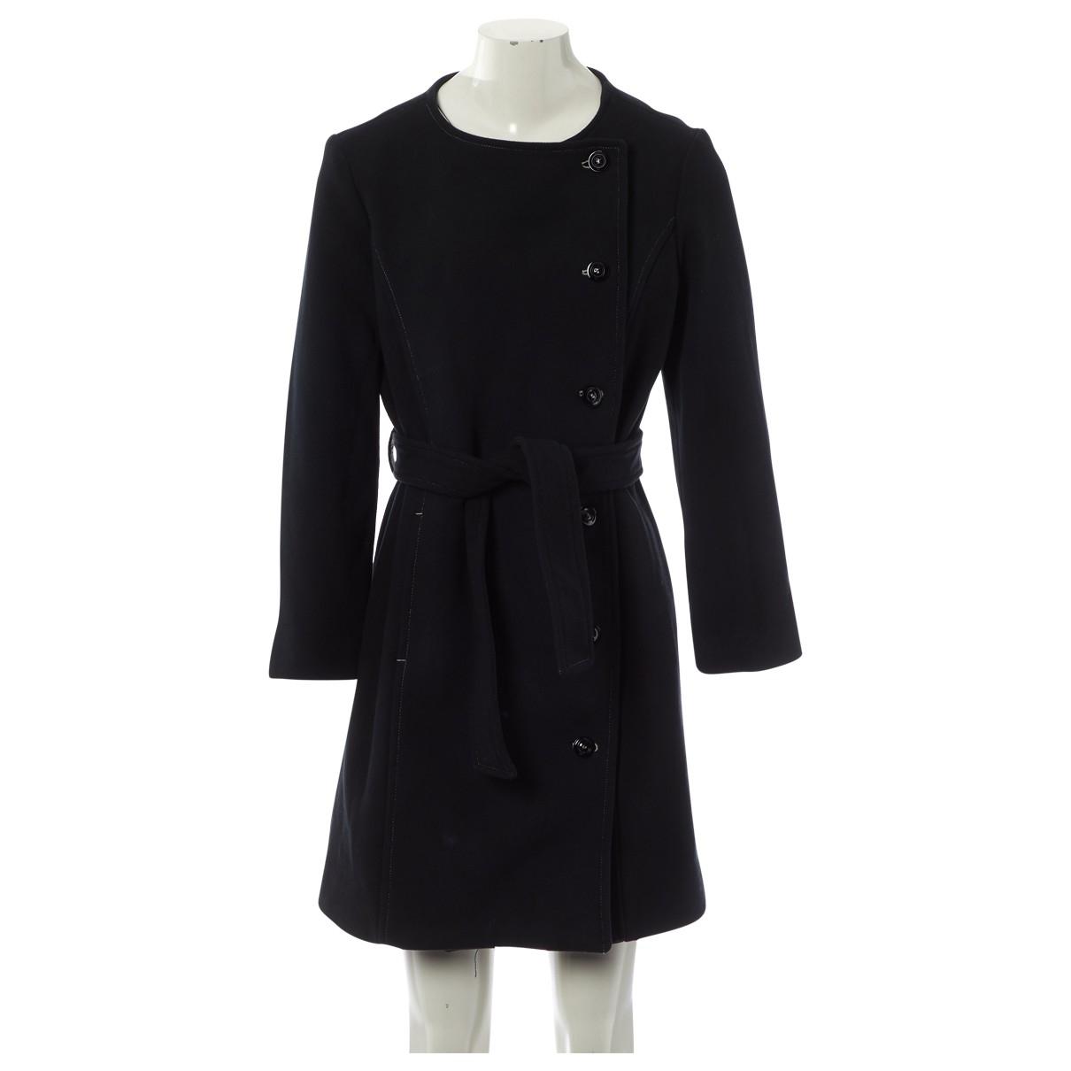 Apc - Manteau   pour femme en coton - noir
