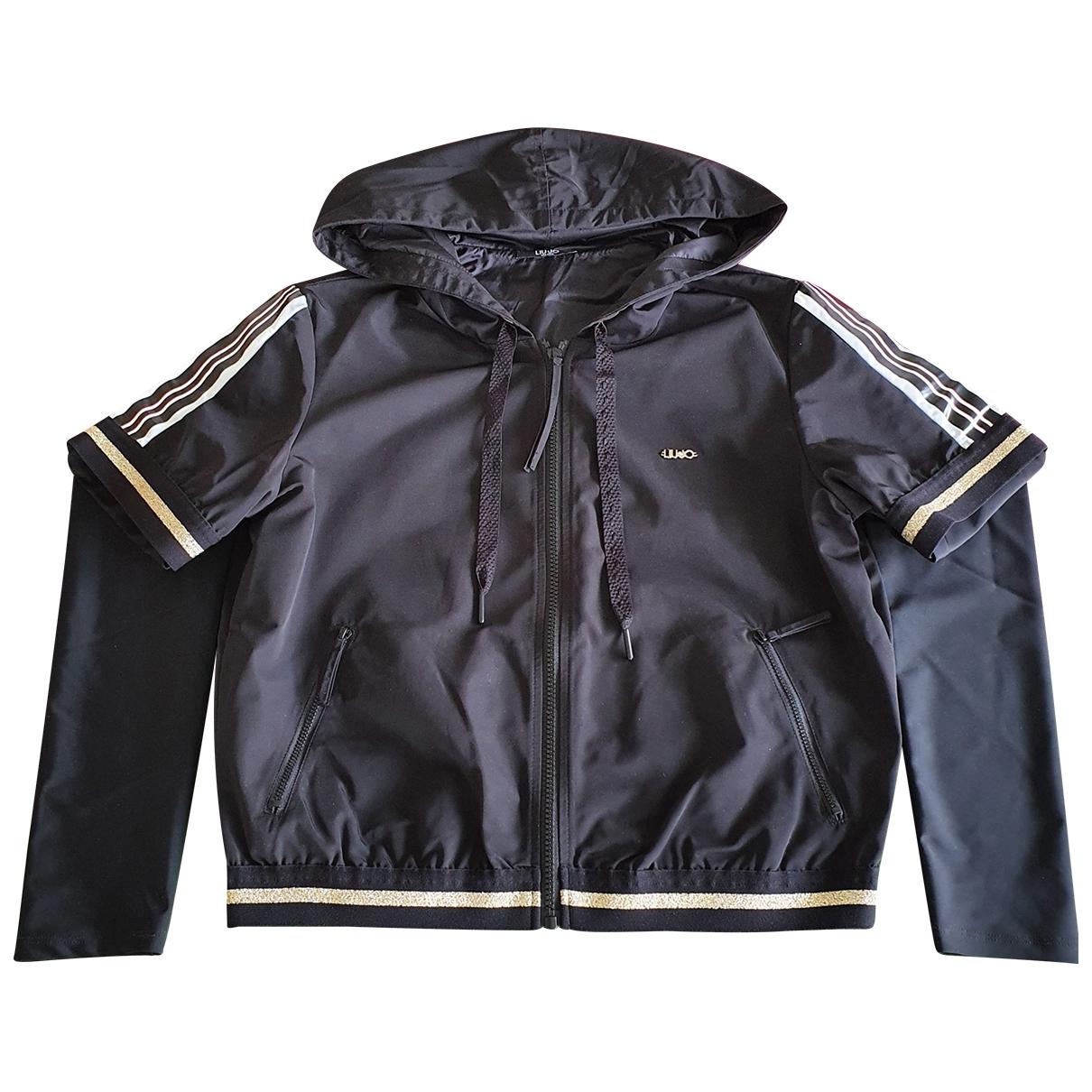 Liu.jo \N Black Leather jacket for Women S International
