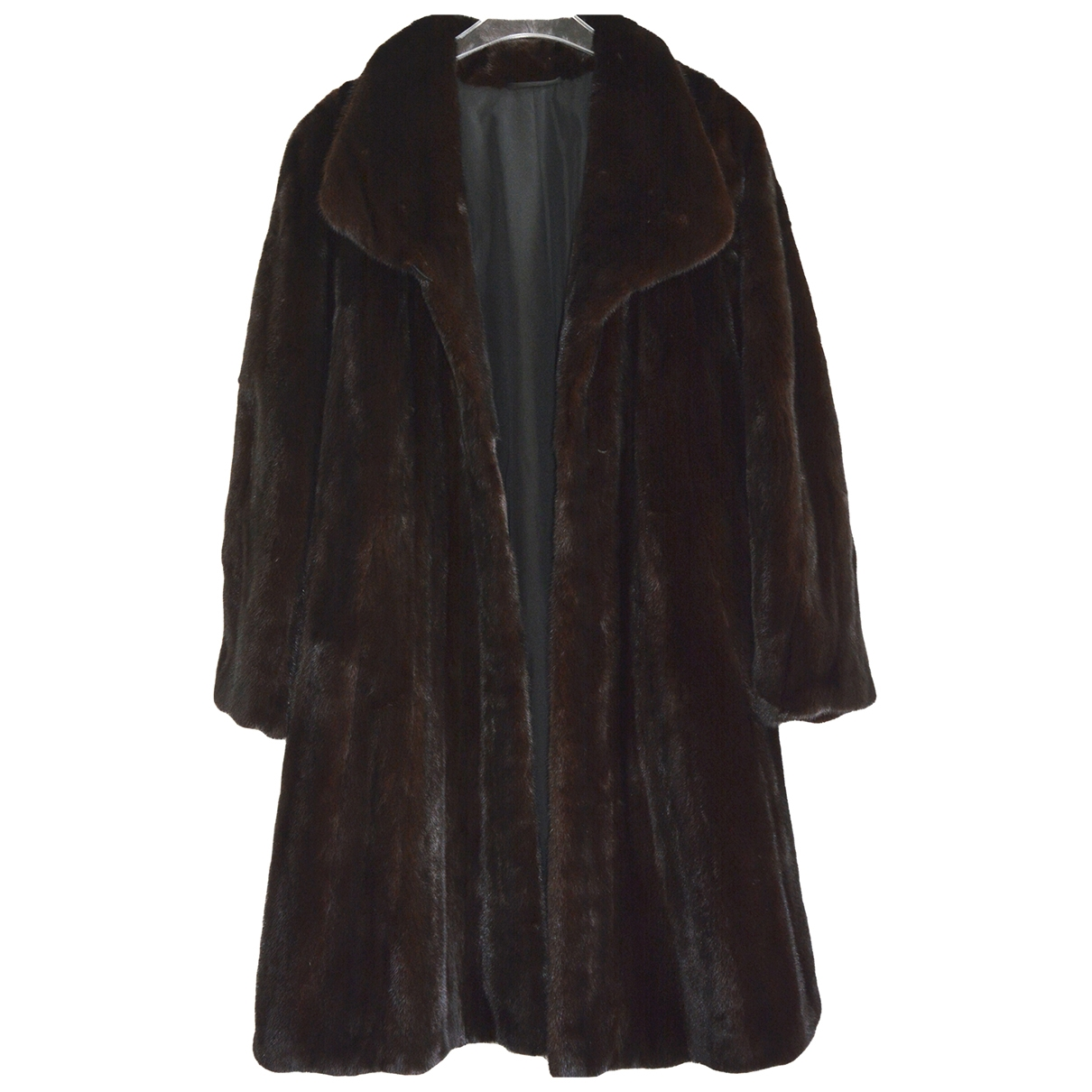 Non Signé / Unsigned \N Black Mink coat for Women M International