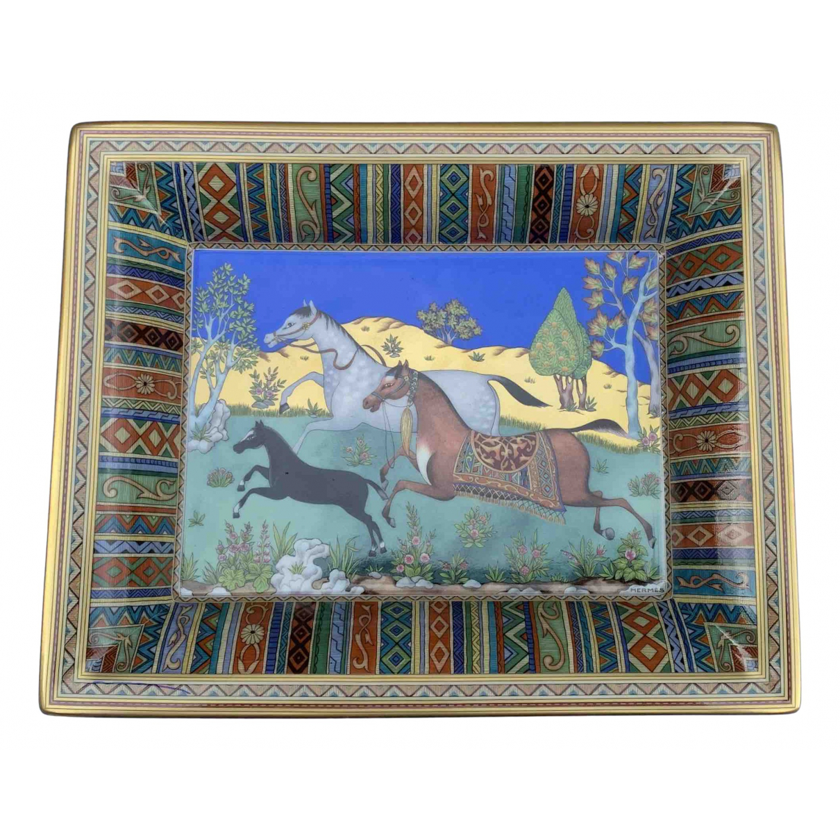 Objeto de decoracion de Porcelana Hermes