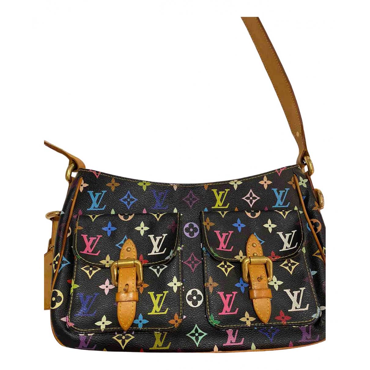 Louis Vuitton \N Handtasche in  Bunt Leinen