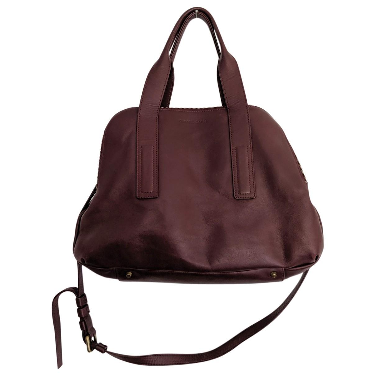 Gerard Darel \N Burgundy Leather handbag for Women \N