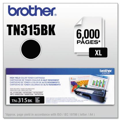 Brother TN-315BK cartouche de toner originale noire haute capacite