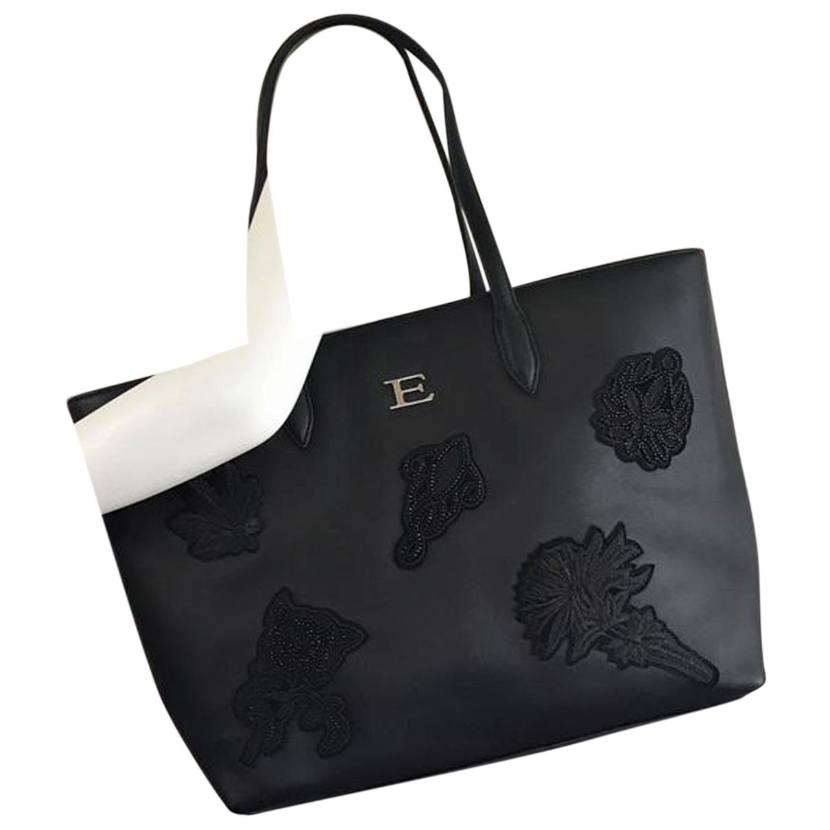 Ermanno Scervino N Black Leather handbag for Women N