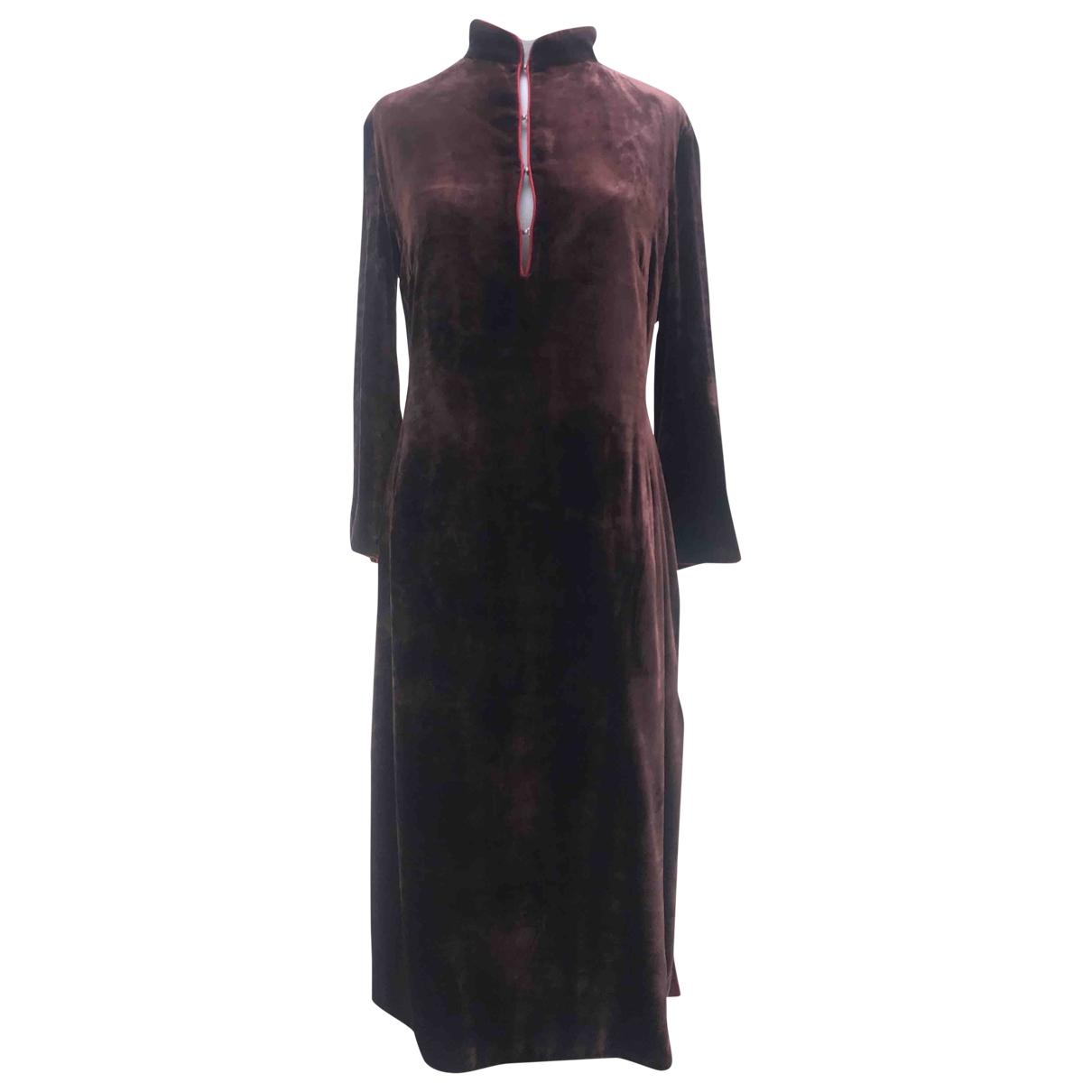Paul Smith \N Brown Velvet dress for Women 44 IT