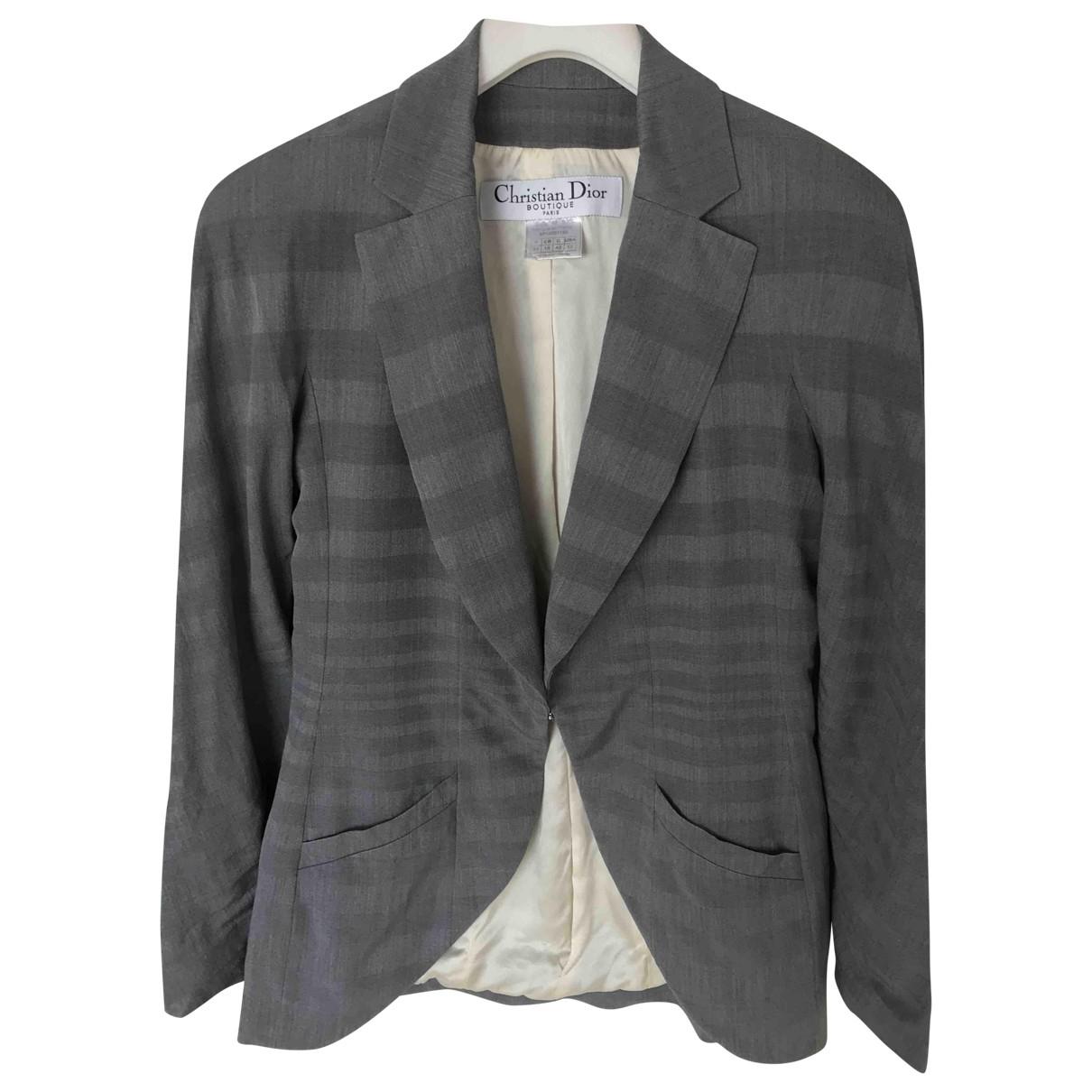 Dior - Veste   pour femme - gris